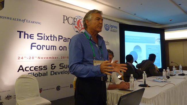 Presenting at the 6th Pan-Commonwealth Forum on Open Learning