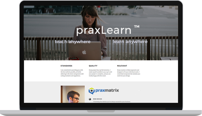 praxlearn-screen