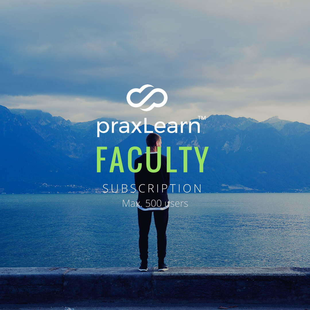PraxLearn Faculty Subscription